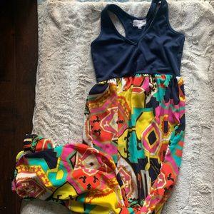 Thyme & honey maxi dress